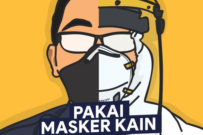 Panduan Masker Kain