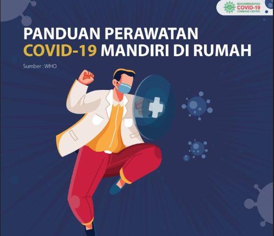 Panduan Perawatan Covid-19  Mandiri di Rumah