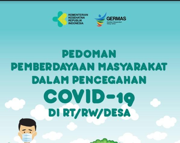 Pedoman Pemberdayaan Masyarakat dalam Pencegahan Covid-19 di RT/RW/Desa