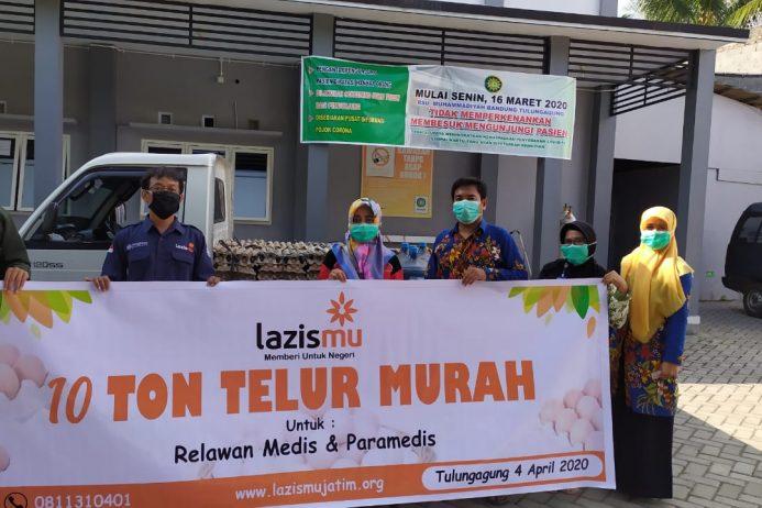 Antisipasi Covid-19 Muhammadiyah Jawa Timur Siapkan 100 Ribu Paket Sembako