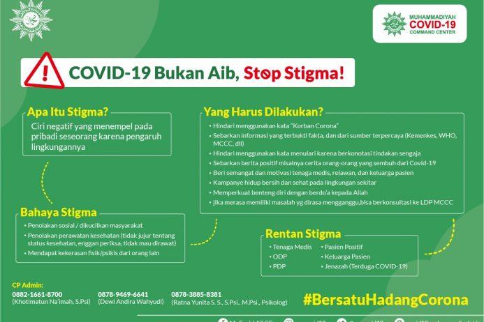Covid-19 Bukan Aib, Stop Stigma!