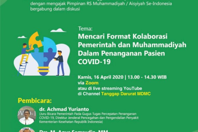 DISKUSI MINGGUAN ONLINE – Covid-19 Talk Part 5