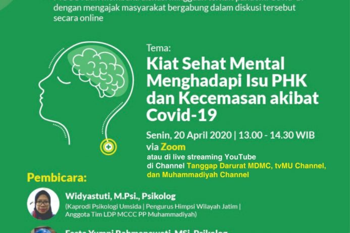 DISKUSI MINGGUAN ONLINE – Covid-19 Talk Part 7