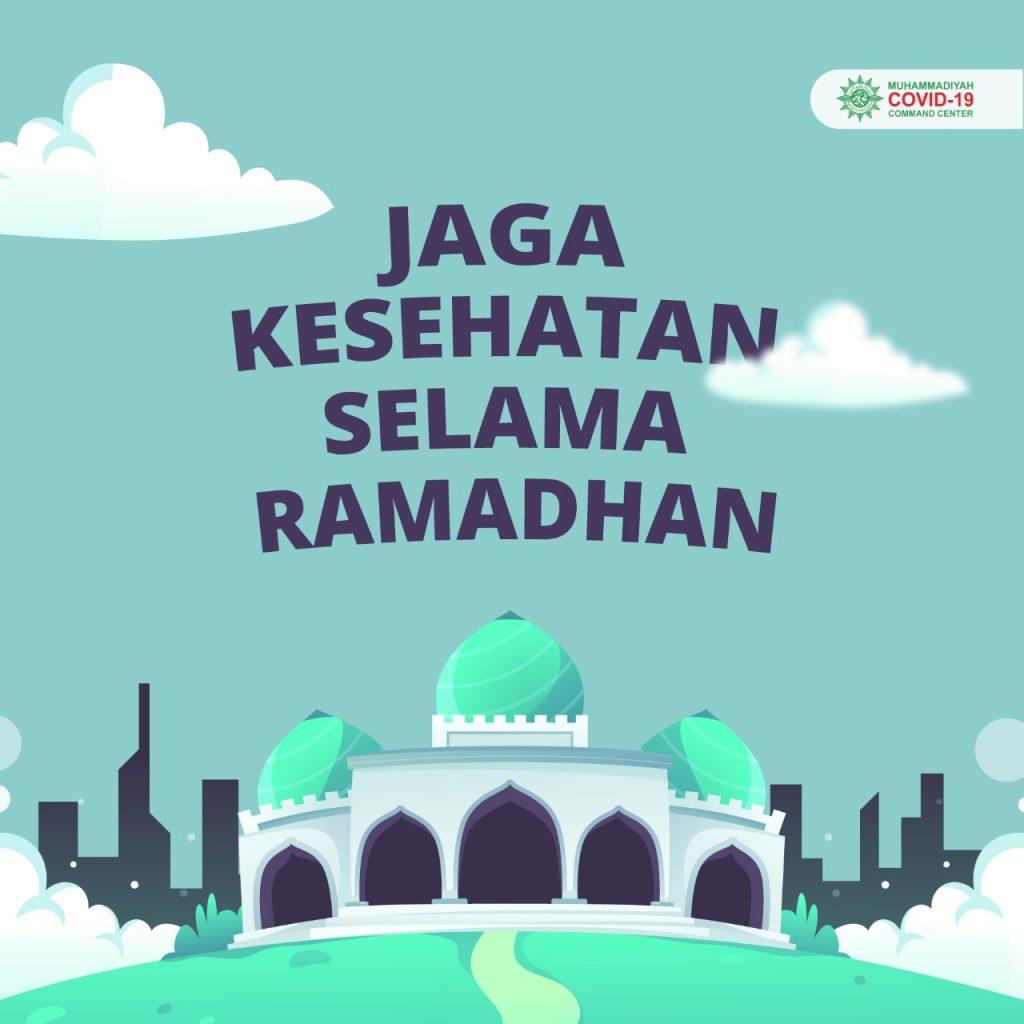 Jaga Kesehatan Selama Ramadan