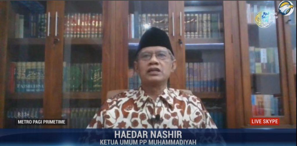 (VIDEO) Ibadah Hari Raya Kala Pandemi Covid-19 – KH Haedar Nashir