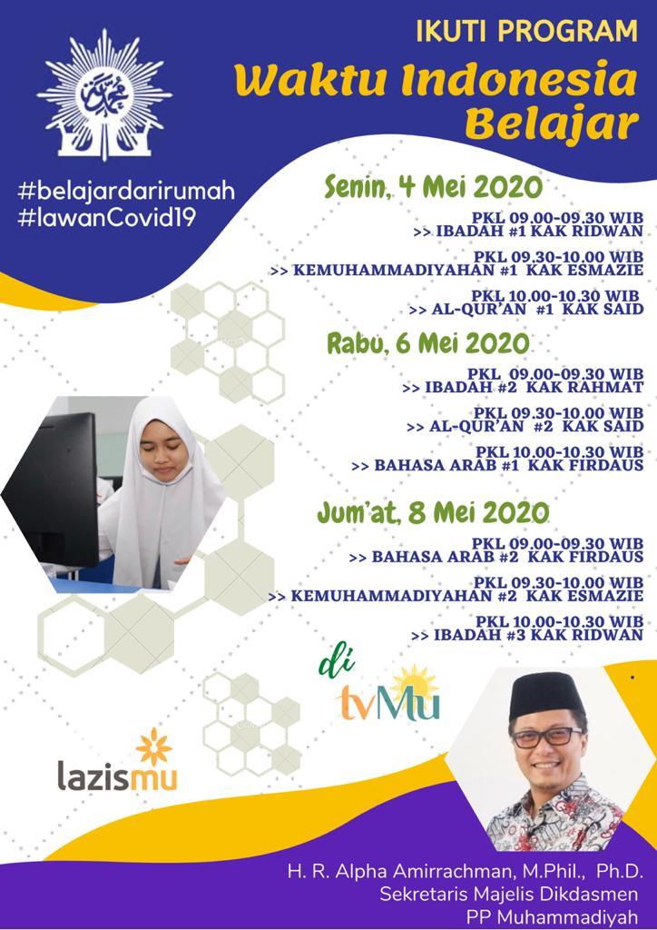 Waktu Indonesia Belajar – #BelajarDariRumah