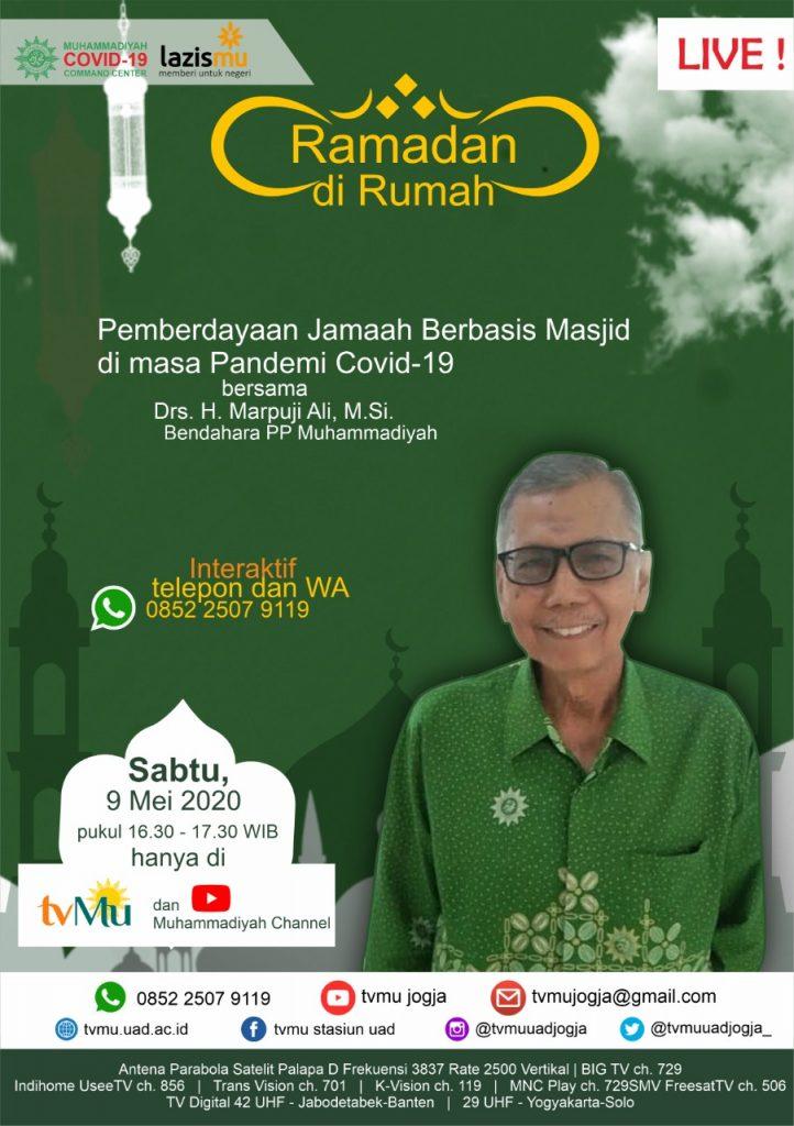(VIDEO) #RamadandiRumah   Pemberdayaan Jamaah Berbasis Masjid di Masa Pandemi Covid-19   Marpuji Ali