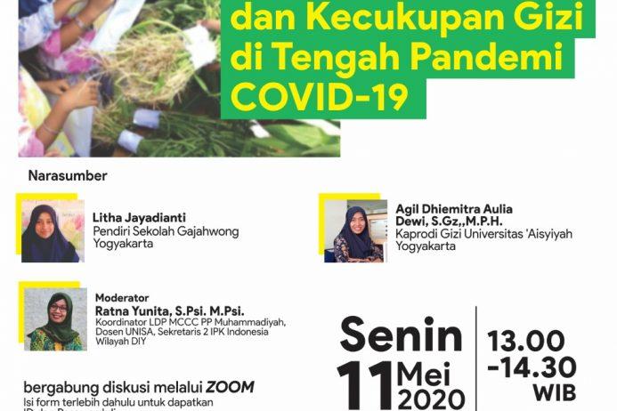 DISKUSI MINGGUAN ONLINE – Covid-19 Talk Part 15