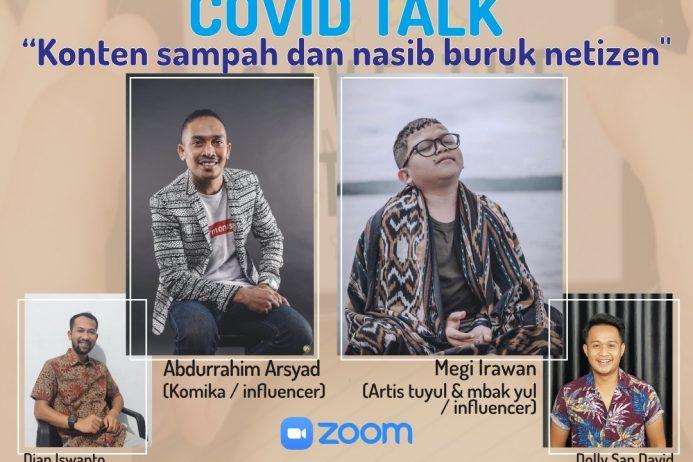 Covid-19 Talk DPP IMM feat LAZISMU & MCCC Part 2