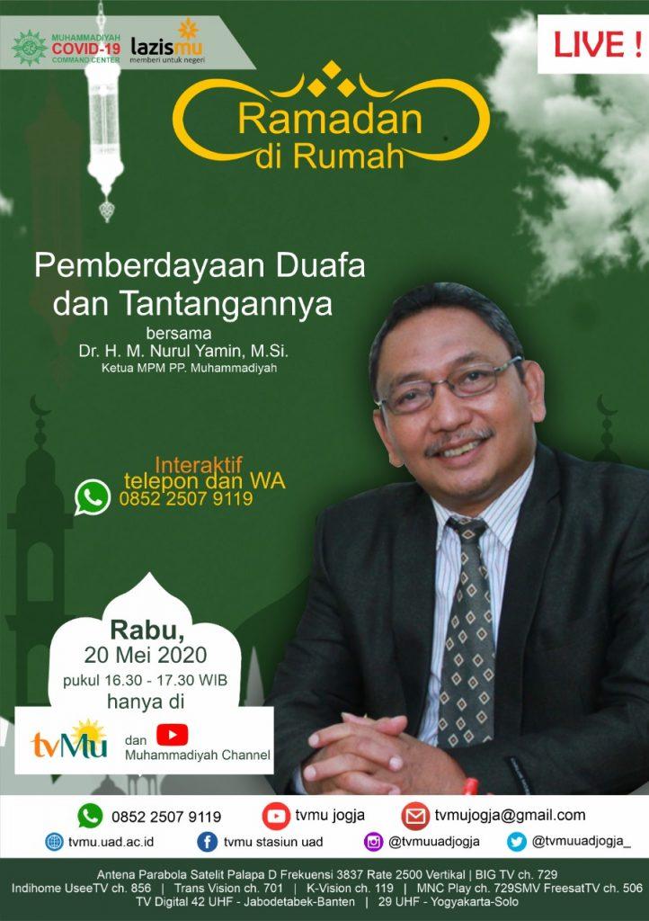 (VIDEO) #RamadandiRumah | Pemberdayaan Duafa dan Tantangannya | Nurul Yamin