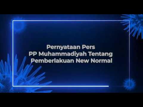 Muhammadiyah: Pemerintah Jangan Bikin Bingung Masyarakat Soal New Normal