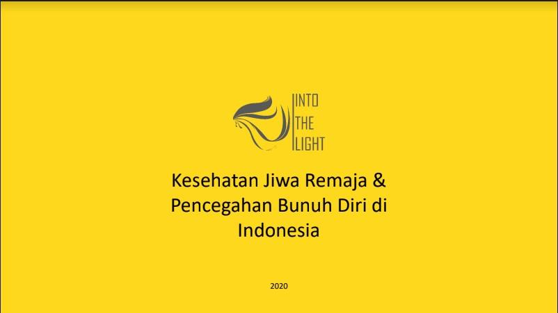 (MATERI) Kesehatan Jiwa Remaja & Pencegahan Bunuh Diri di Indonesia