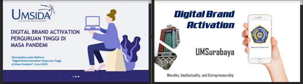 (MATERI) Digital Brand Activation Perguruan Tinggi di Masa Pandemi
