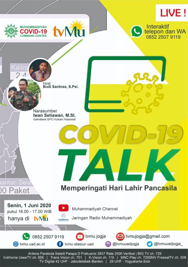 (VIDEO) Covid-19 Talk Spesial Hari Lahir Pancasila