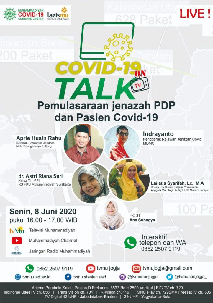 (VIDEO) Covid-19 Talk Part 31 : Pemulasaran Jenazah PDP dan Pasien Covid-19