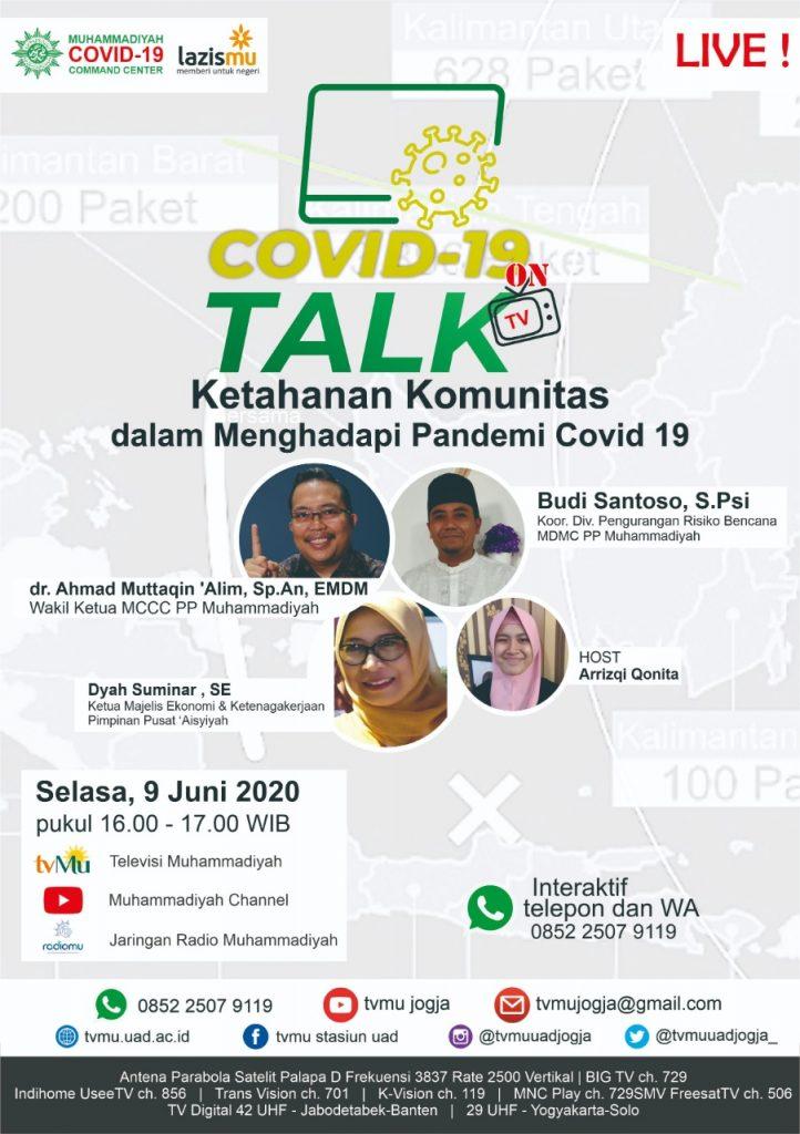 (VIDEO) Covid-19 Talk Part 32 : Ketahanan Komunitas dalam Menghadapi Pandemi Covid-19