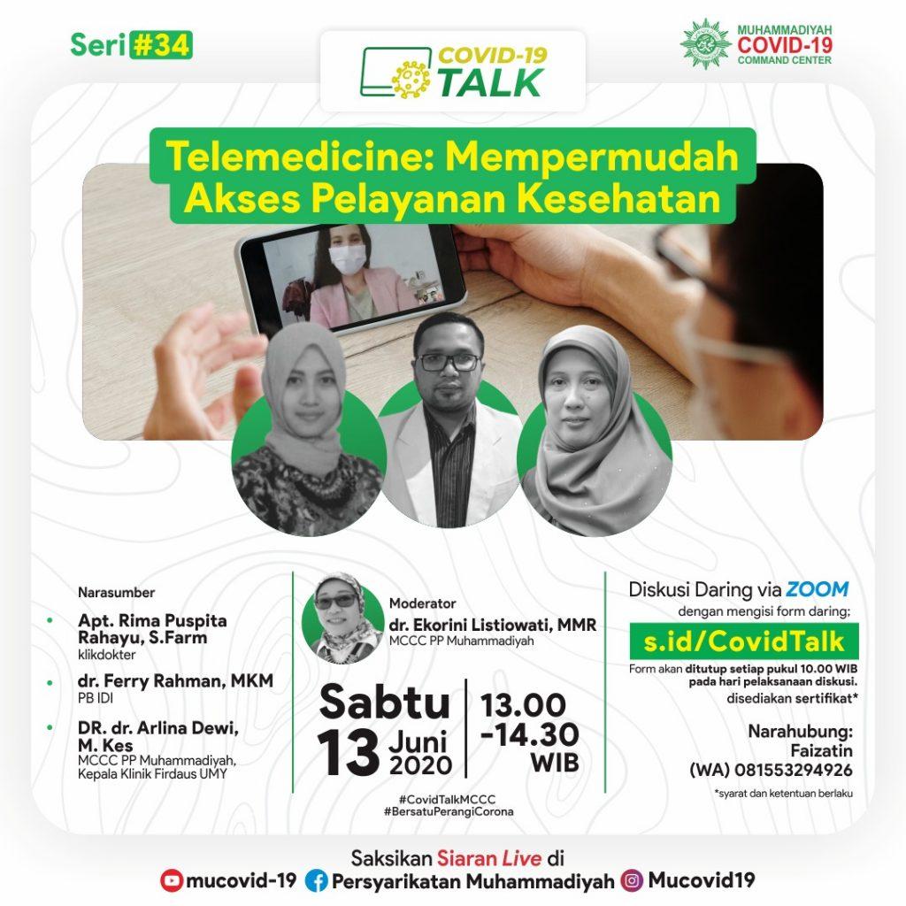 (MATERI) Telemedicine : Mempermudah Akses Pelayanan Kesehatan
