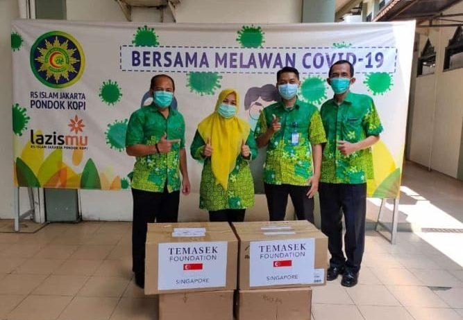 Muhammadiyah Terima Bantuan Ventilator dan Masker dari Singapura