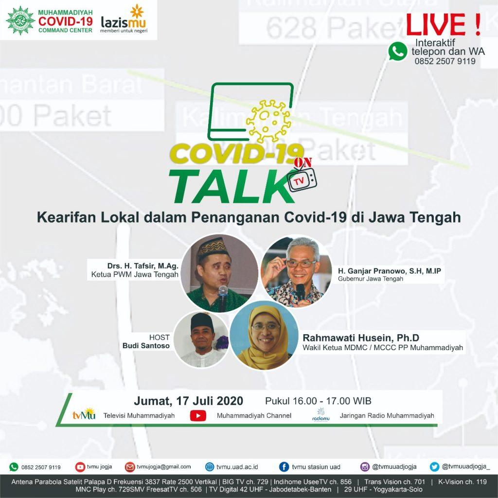 (VIDEO) Covid-19 Talk Part 85 : Kearifan Lokal dalam Penanganan Covid-19 di Jawa Tengah