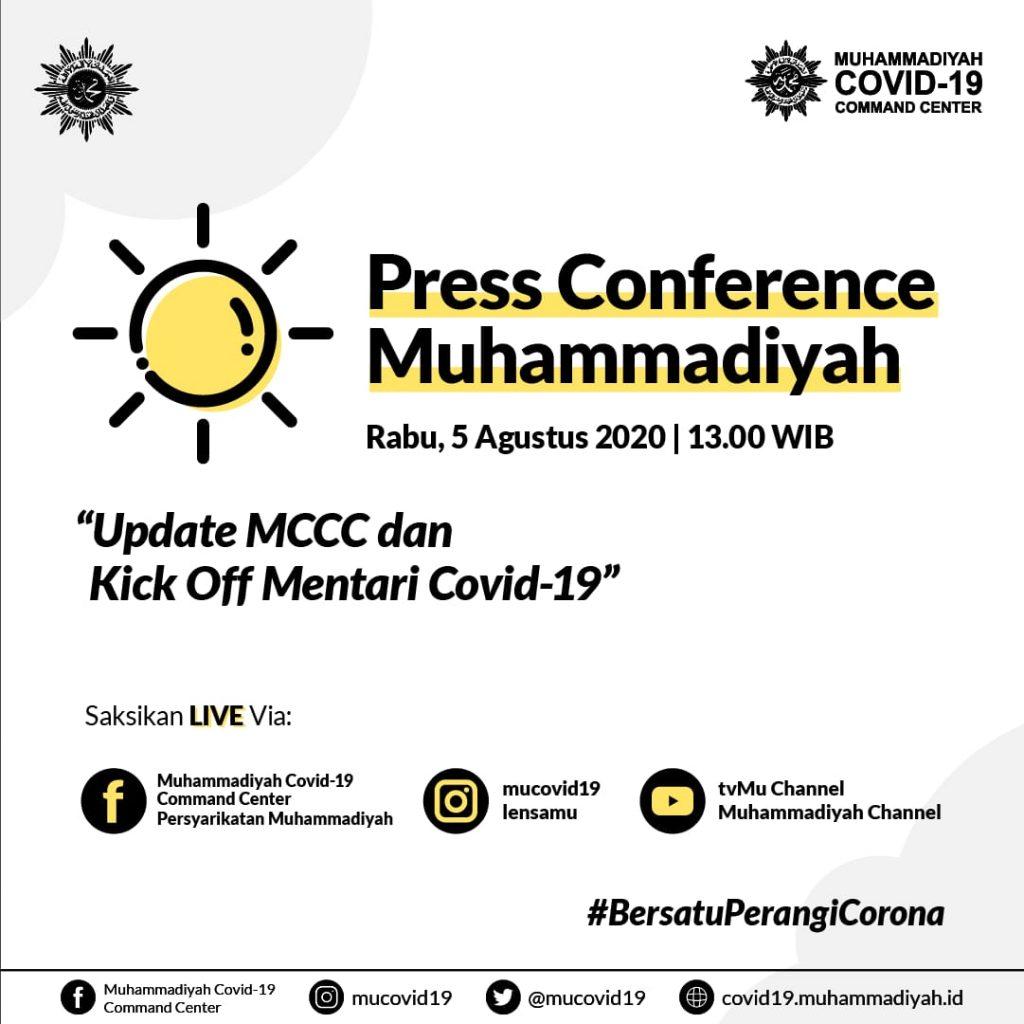 (VIDEO) KONFERENSI PERS MUHAMMADIYAH 5 AGUSTUS 2020