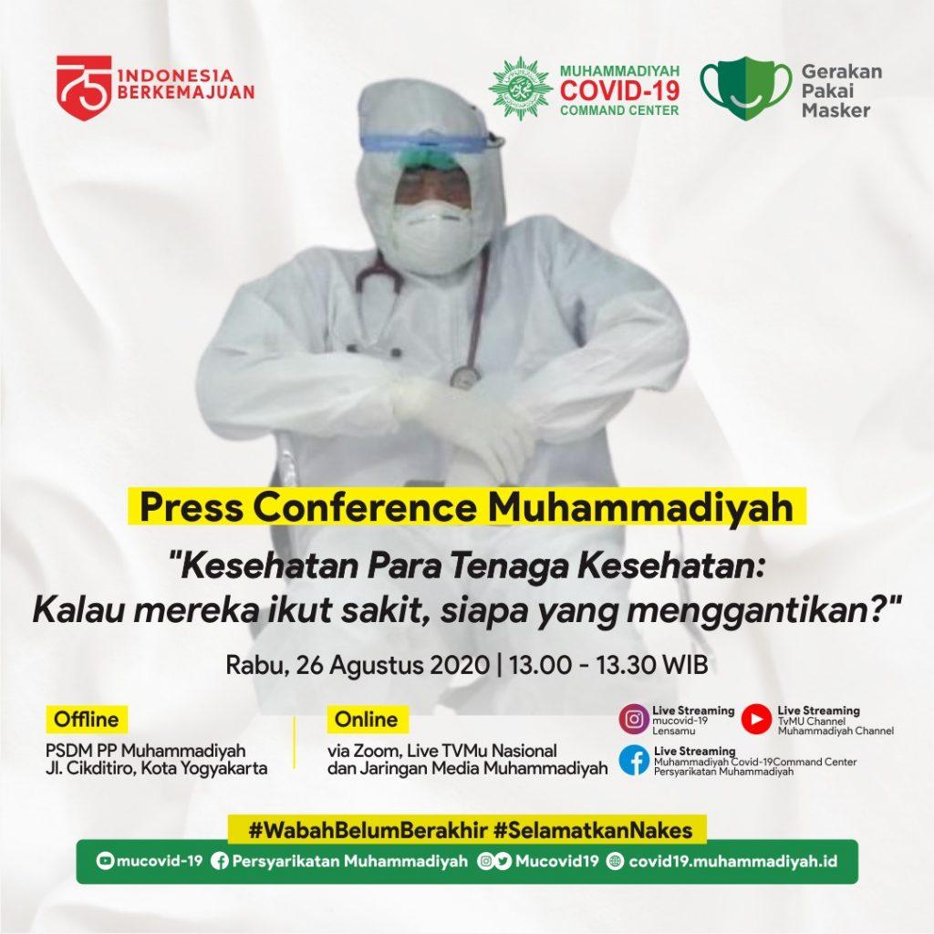 (VIDEO) KONFERENSI PERS MUHAMMADIYAH 26 AGUSTUS 2020