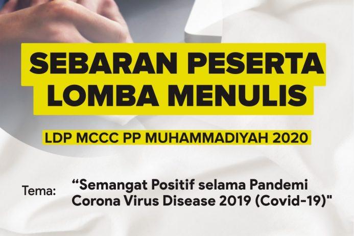 Pengumuman Hasil Lomba Menulis MCCC PP Muhammadiyah