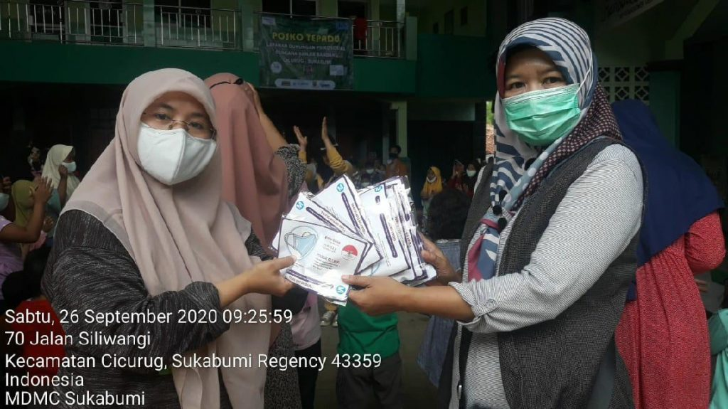 Muhammadiyah Utamakan Protokol Kesehatan dalam Menangani Bencana Banjir Bandang Sukabumi