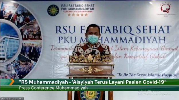 Delapan Bulan Pandemi RS Muhammadiyah Tangani 3.330 Pasien Terkonfirmasi Covid-19