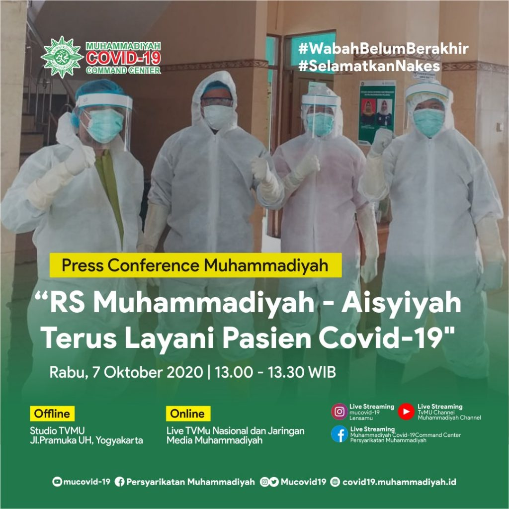 (VIDEO) KONFERENSI PERS MUHAMMADIYAH 7 OKTOBER 2020