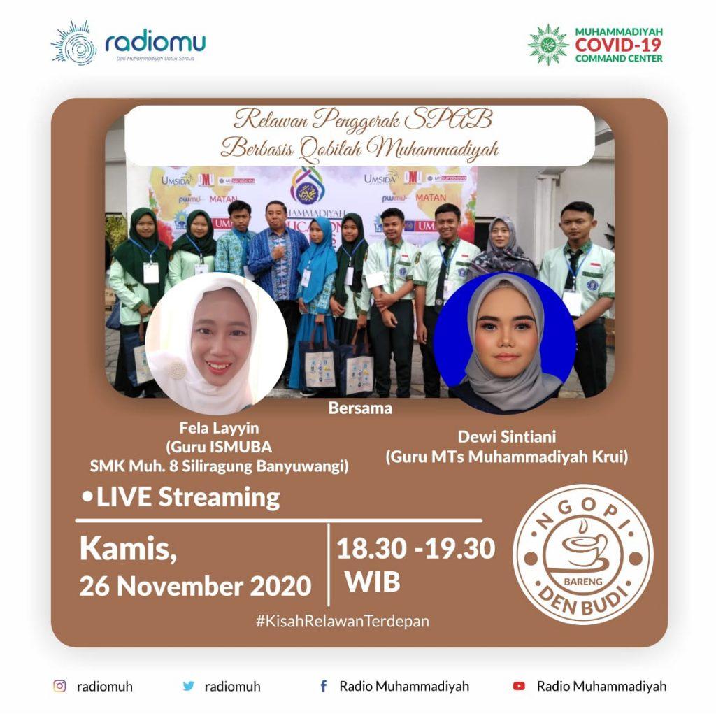 (VIDEO) #NgopiBarengDenBudi Part 58 – Relawan Penggerak SPAB Berbasis Qobilah Muhammadiyah