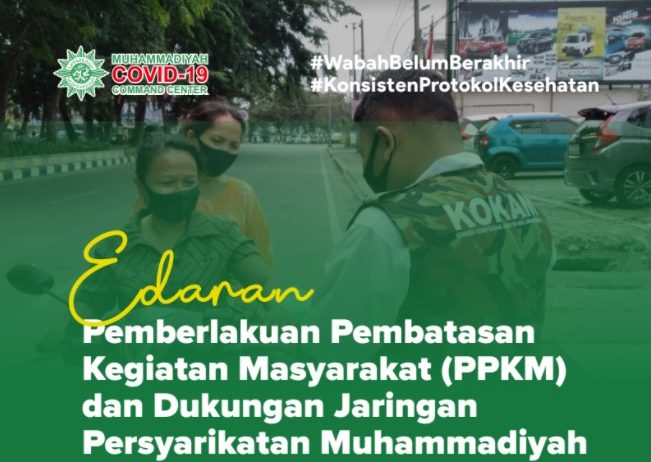 Infografis Edaran MCCC tentang PPKM