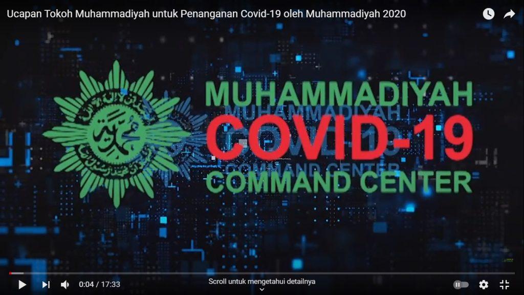 Ucapan Tokoh untuk Penanganan Covid-19 oleh Muhammadiyah