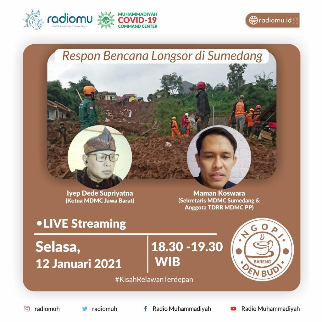 (VIDEO) #NgopiBarengDenBudi Part 72 – Respon Bencana Longsor di Sumedang