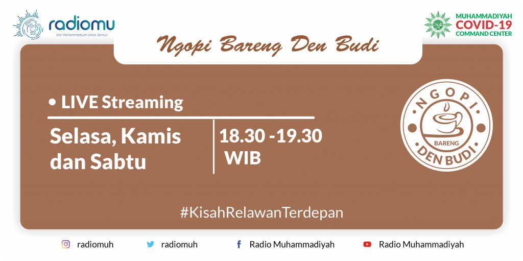 (VIDEO) #NgopiBarengDenBudi Part 75 – Suara Relawan Muhammadiyah