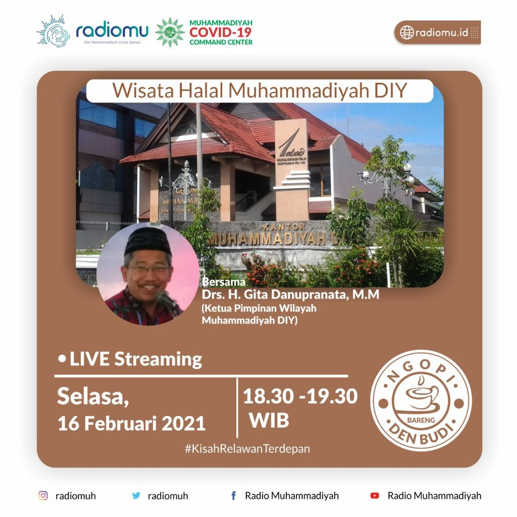 (VIDEO) #NgopiBarengDenBudi Part 83 – Wisata Halal Muhammadiyah DIY