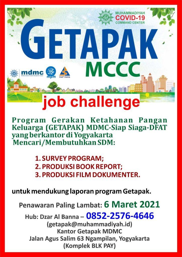 Open Recruitment Getapak