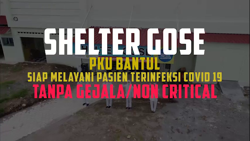 (VIDEO) Shelter Covid-19 Gose