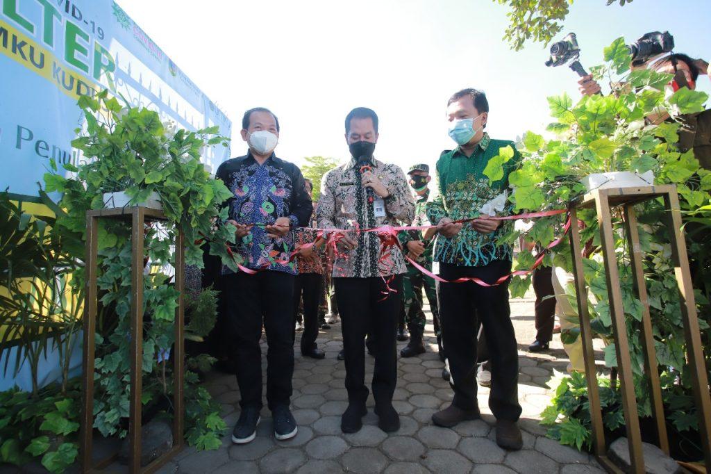 Bupati Kudus Resmikan Shelter Covid-19 MCCC Universitas Muhammadiyah Kudus