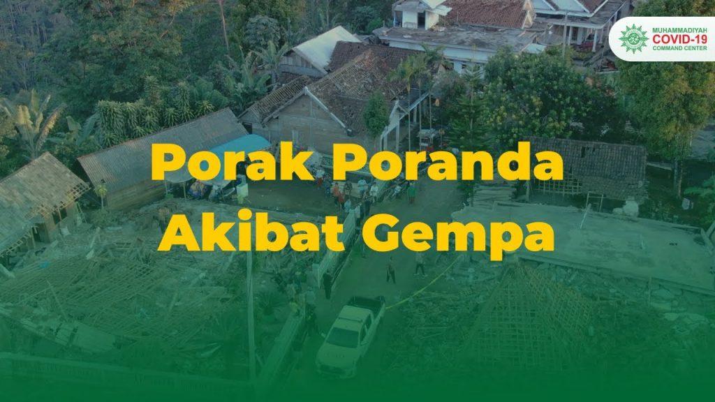 (VIDEO) Gempa Malang/Lumajang: Selalu menerapkan Protokol 3M