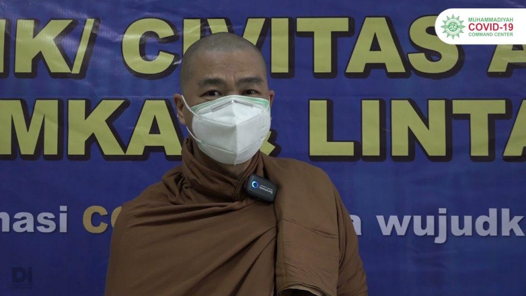 (VIDEO) Muhammadiyah Vaksinasi Jama'ah Permabudhi di UHAMKA