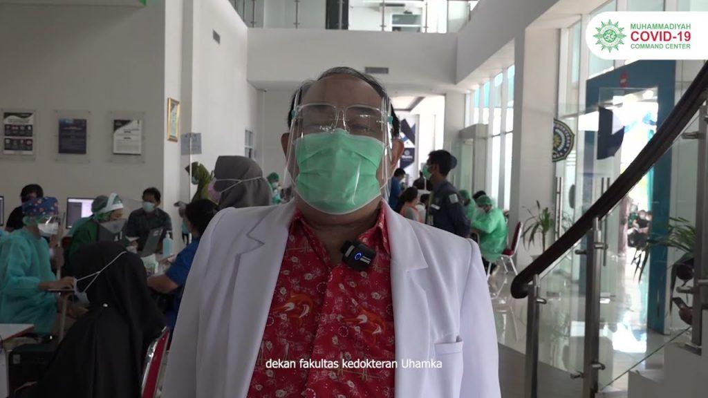 (VIDEO) FK UHAMKA Vaksinasi 650 Warga Lintas Agama