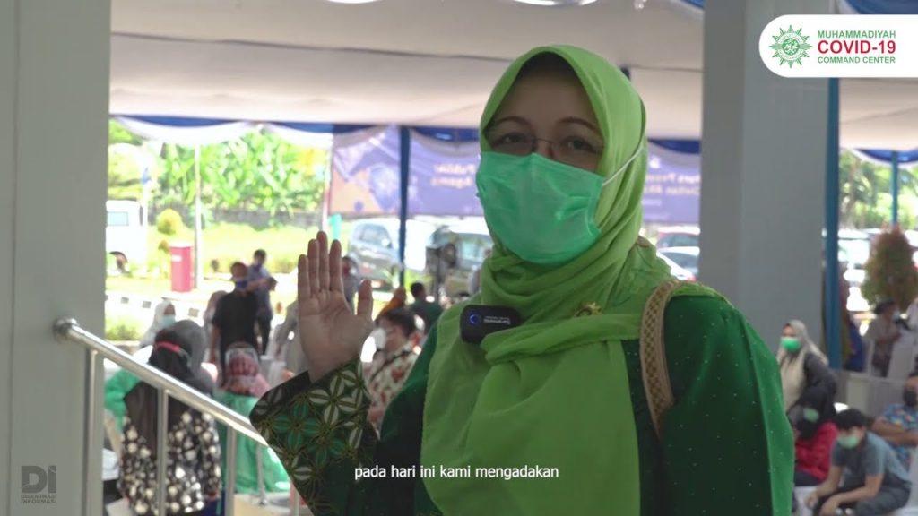 (VIDEO) Aliansi RS Islam Jakarta Vaksinasi Ratusan Warga dan Akademisi