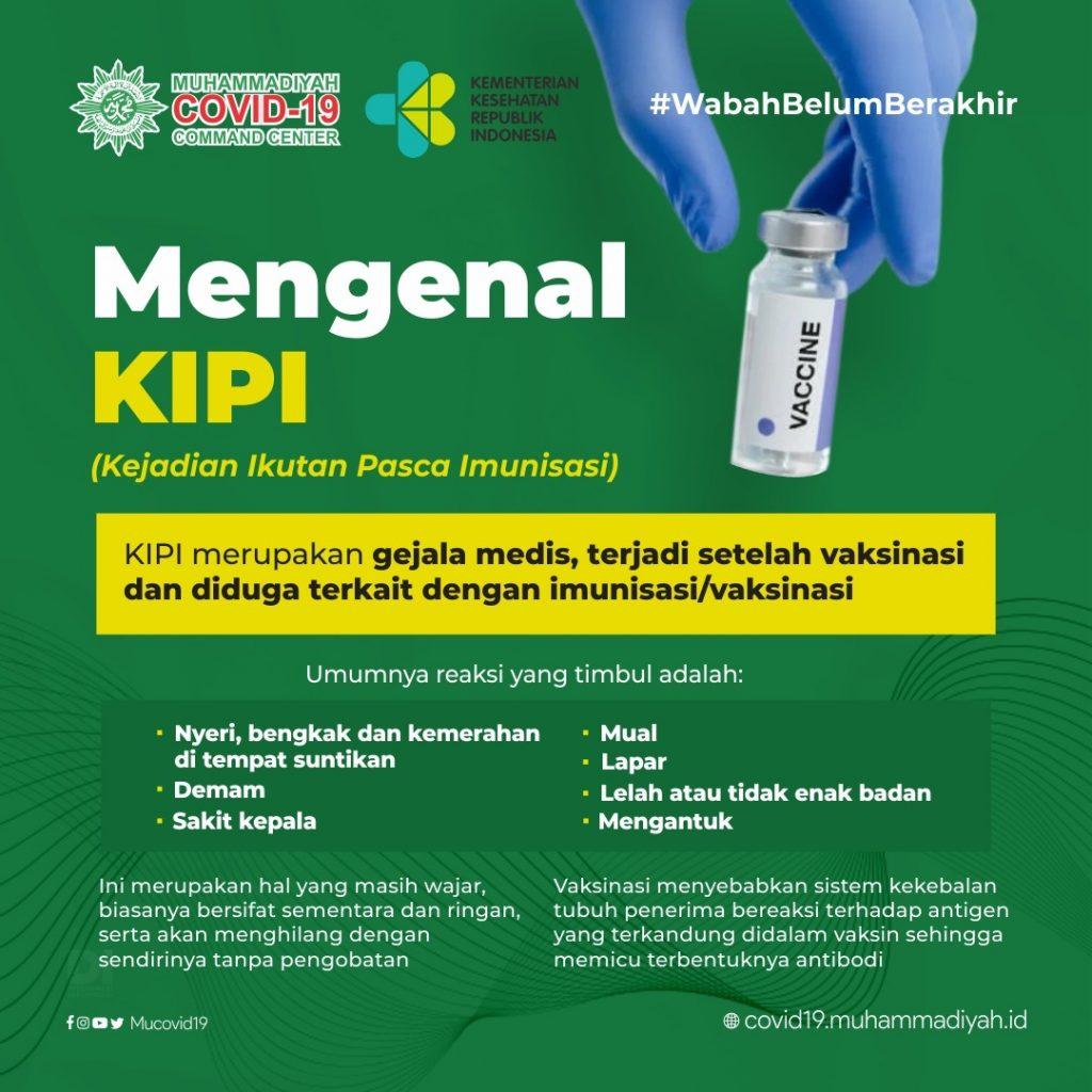 Mengenal KIPI (Kejadian Ikutan Pasca Imunisasi)