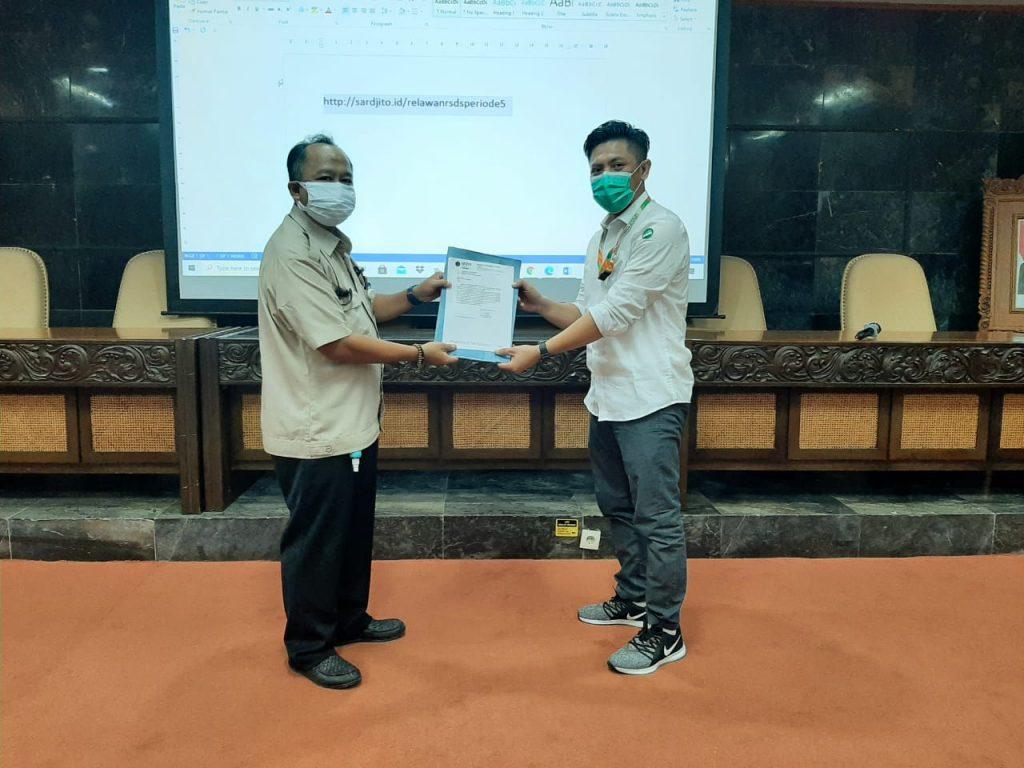 UNISA Yogyakarta Kirim 39 Relawan ke RSUP dr. Sardjito