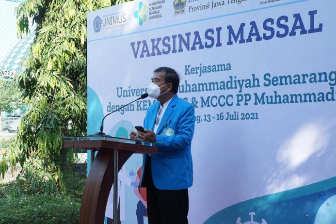 Muhammadiyah Gelar Vaksinasi Ke-27 di Universitas Muhammadiyah Semarang