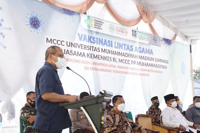 Target Herd Immunity, MCCC Gelar Vaksinasi ke-38 di Universitas Muhammadiyah Madiun