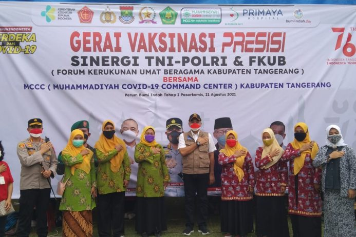 MCCC Kabupaten Tangerang Gelar Vaksinasi untuk Masyarakat Lintas Iman