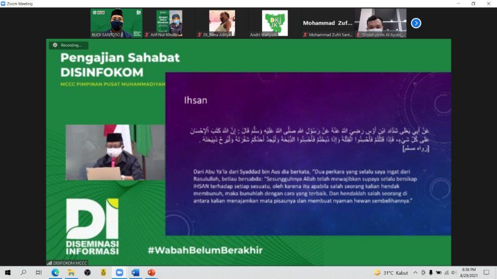 Relawan Muhammadiyah Harus Berperilaku Ihsan dan Itqan