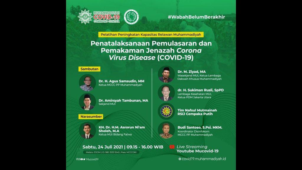 (VIDEO) Penatalaksanaan Pemulasaraaan dan Pemakaman Jenazah Corona Virus Desease (Covid-19)