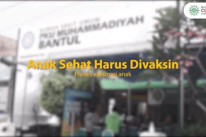 (VIDEO) Anak Sehat Harus Divaksin